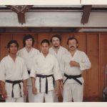 Photo de groupe avec M. Walter TODD